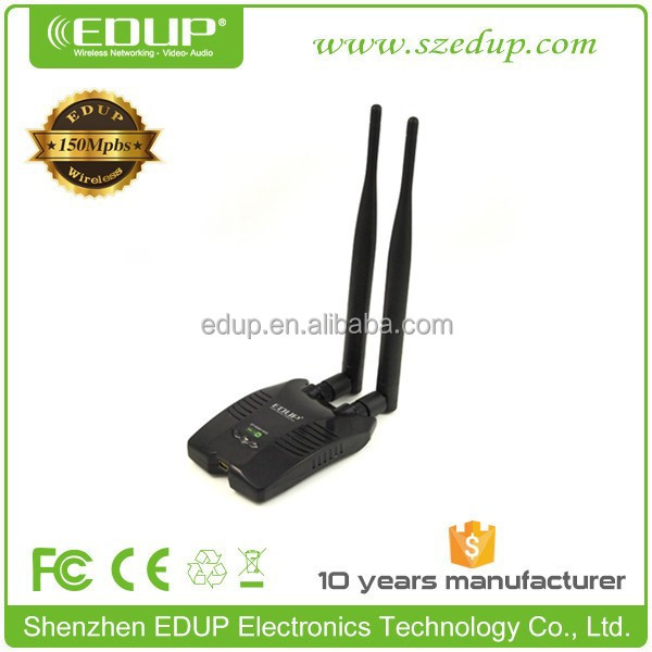 In stock 150M USB WiFi Wireless Network WI-FI Networking Card LAN Adapter with Antenna Computer Accessories