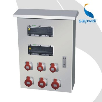Manufacturer Saipwell 300*400*150mm waterproof Stainless Steel Wall Mount Enclosure