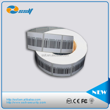 8.2MHZ RF EAS alarming system supermarket security anti-theft soft tags/labels sensor