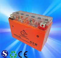 12V6.5AH MF Motorcycle Batteries Dry Charged Lead Acid Batteries For Motorcycle 12N6.5-BS