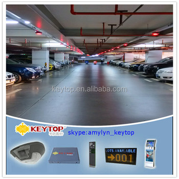 IP camera based vehicle tracking system with led display and ANPR software to find cars