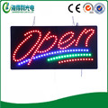 Dongguan LED backlit letter sign colorful edge led open sign