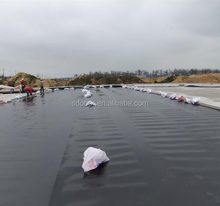 HDPE geomembrane pond liner for pool with ASTM GM13 standard