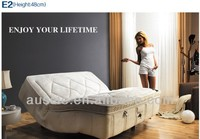 massage bed with 2250pcs micro- pocket spring(E2)