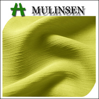 Mulinsen Textile 100% Polyester Accordion Pleats Chiffon Fabric