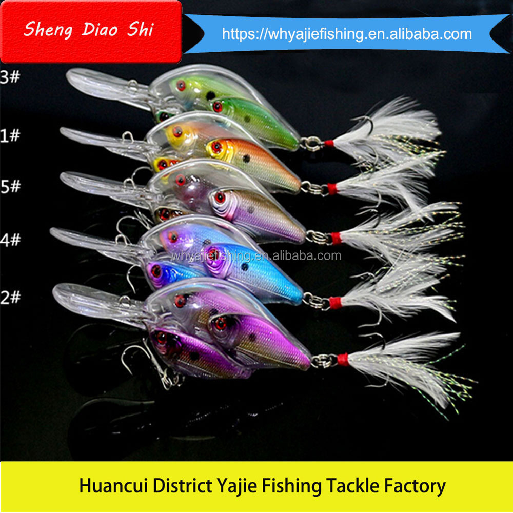 New Design Various Color 17g, 97mm Minnow 3D Eyes China Hot Sale Crank Bait Fishing Lure