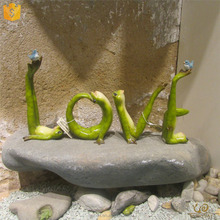 High Quality Latest Valentines Gifts& Wedding Table Large Centerpieces Decoration Letters for Sale