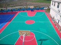 Prefabricated Synthetic Rubber Athletic Running Track Surface Outdoor Sport Surface