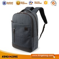 Hot selling canvas and leather backpacking bags with low price