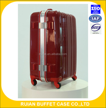 aluminum hard shell royal polo luggage trolley case