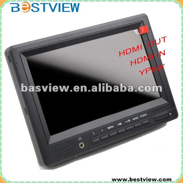 NEW 7 INCH HD MONITOR WITH HDMI in put & Output,