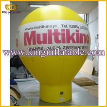 advertising PVC inflatable helium balloon inflatable ground balloons