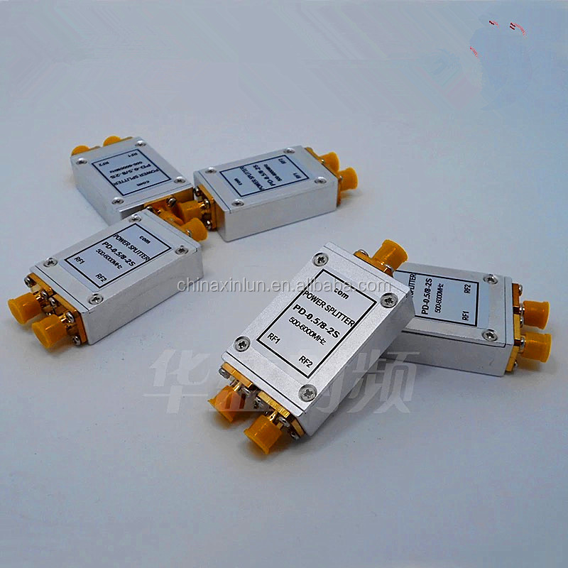 Super Wideband 0.5~6GHz 2 way Power Divider or Power Splitter or Power Combiner