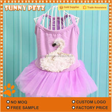 Dog Clothes Teddy Spring And Summer Swan Fairy Pet Dress