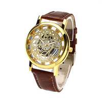 2016 Latest design vogue unique dial watch for men