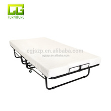 Folding Bed with Luxurious Memory Foam Mattress Super Strong Sturdy Frame