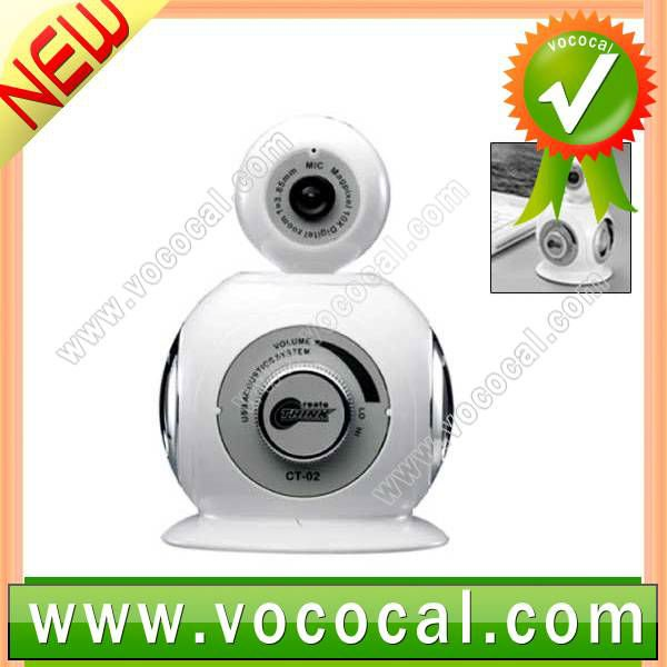 3 in 1 HD Webcam USB 2.0 PC Camera Driver Free