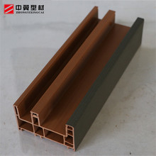 China Price Pvc Profile Double Glazed Square Parts Vinyl Glass Upvc Window , Casement Plastic Profile Louver Pvc Windows