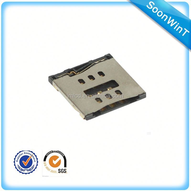 brand new sim card socket for iphone 5 accept paypal