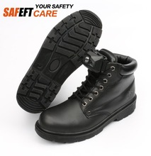 Best black work land anti static steel toe work safety shoes women