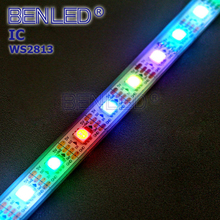 Smart SMD 5050 WS 2813 Pixel DC 5V Addressable Individual Magic Color RGB 30 60 144leds Flexible LED WS2813 IC Strip Tape