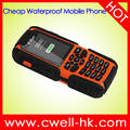 2.0 Inch IP67 Waterproof Mobile Phone Rugged Feature Phone Cheap Rugged Phone