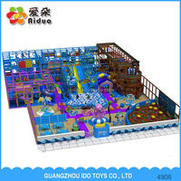 Long Performance Life Indoor Kids Playground