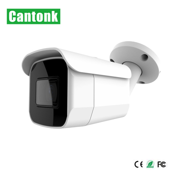 Cantonk 2018 Outdoor POE H265 CCTV Bullet Day Night WDR  5MP Camera IP