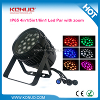 IP 65 Waterproof 18x12W 6 In
