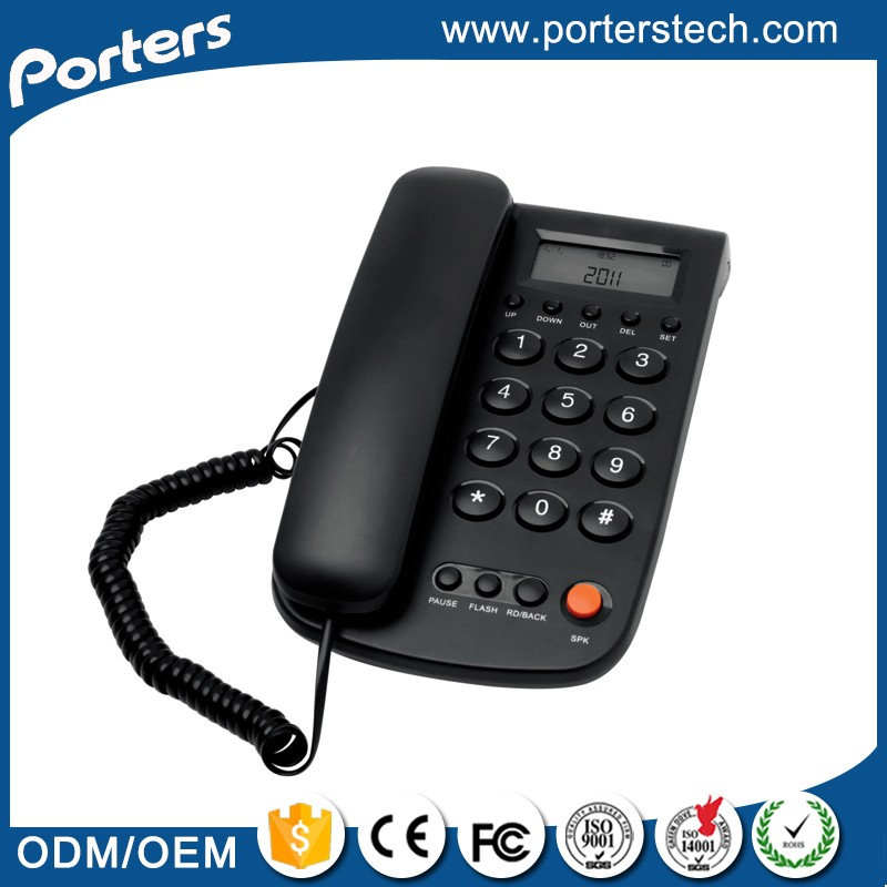 China Wholesale Merchandise old style telephone,stationary phone,corded ID phone
