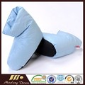 80% White Duck Down Shoes Indoor Down Slippers With Cotton Cover