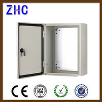 NEMA IP65 Waterproof Outdoor Powder Coating Electrical Power wall mounted metal distribution board enclosure box