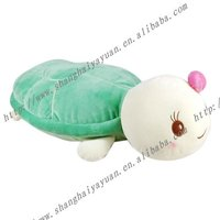 High quality green turtle plush toy stuffed