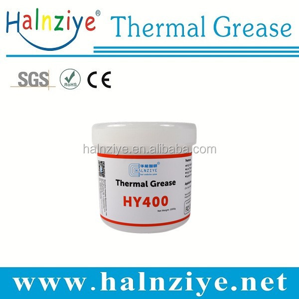 HY400 white silicone excel high performance led thermal conductive paste with can