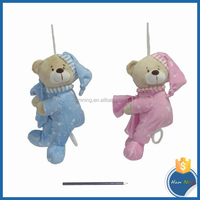 plush toys lovely baby doll stroller toy musical box bedtime toy