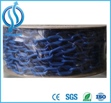 China Coloured Traffic Roadway Safety Plastic Coated Chain Plastic Chain