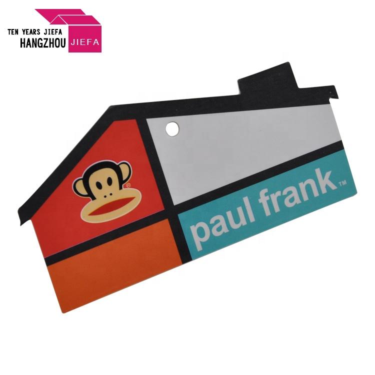 Child's Clothing Hang Tag Logo Custom Paper Hang Tag