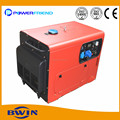 6kva power diesel generator movable Generators AC output three phase 220V