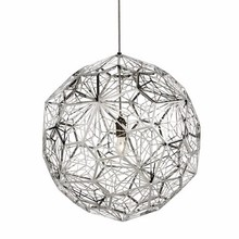 7.5-15 Stainless steel mesh spherical Etch Web Pendant Light