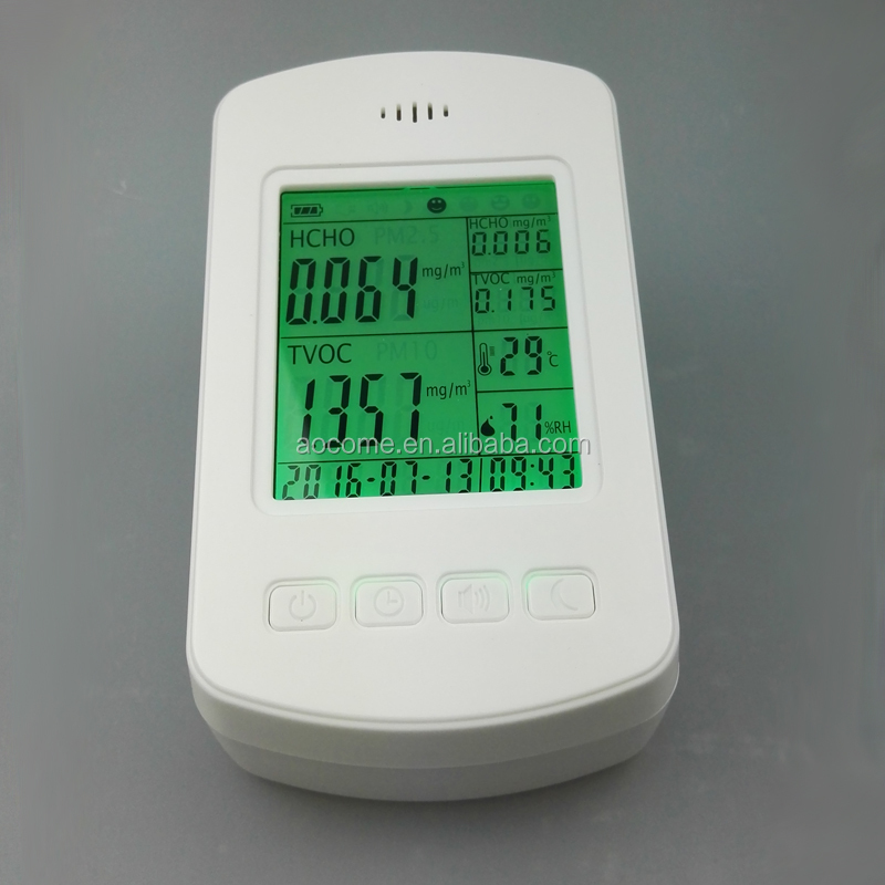 PM2.5 Particle Counter Indoor Air Quality Monitoring