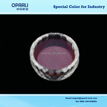 high quality rainbow series colour powder cyan/blue/purple/red color changing pearl powder for textile printing