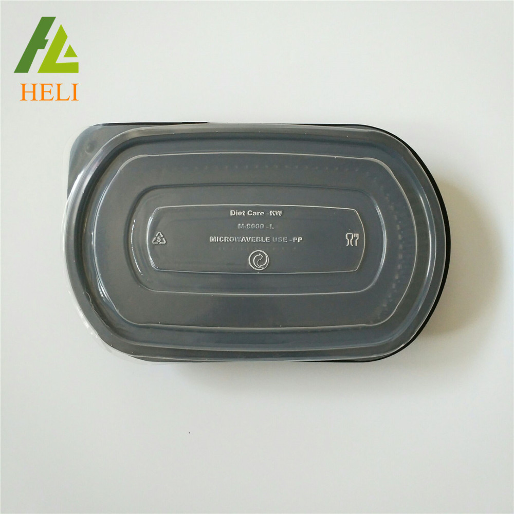 Microwaveable Disposable Plastic Food Container