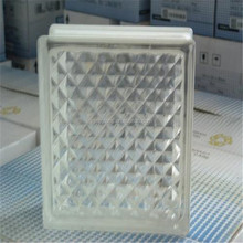 China factory supplier cheap wholesale decorative clear and colored hollow glass block price