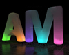 2015 Hot Sale Inflatable led letters, Inflatable lighting words