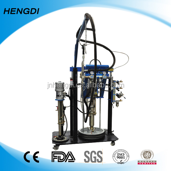 Double glass Silicon glue spreader machine/Insulating glass Polysulfide glue extruder / Two component sealant coating machine