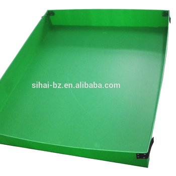 pp corrugated customized layer pad for bottles storage packaging and shipping