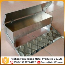 FanChuang-galvanized automatic poultry treadle feeder made in China plastic animal feed trough
