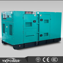 120KW silent type genset powered by Cummins engine at 1500RPM