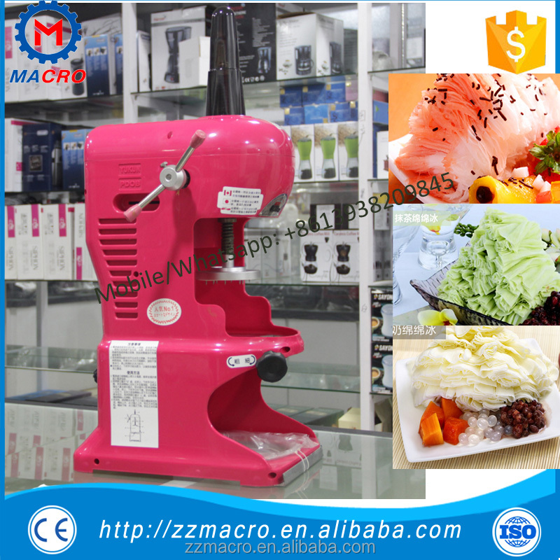 home snow making machine/ice manufacturing plant/ ice shaving machine ice crusher snow