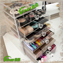 Acrylic Nail Polish Organizer Makeup Drawer Display Stand Case